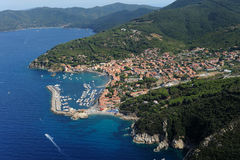 Marciana Marina harbour-Elba island Stock Image