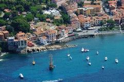 Marciana Marina harbour-Elba island Royalty Free Stock Photos