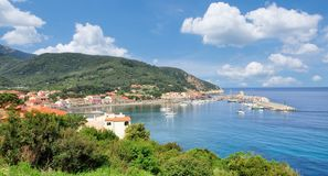 Marciana Marina, Insel von Elba, Italien lizenzfreie stockbilder