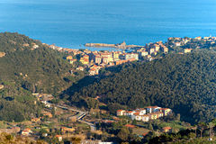 Marciana marina, Isle of Elba, Italy. Royalty Free Stock Photo