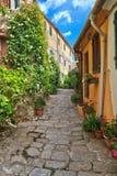 Marciana village - Elba Island Royalty Free Stock Image