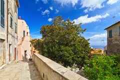 Marciana village - Elba Island Royalty Free Stock Images
