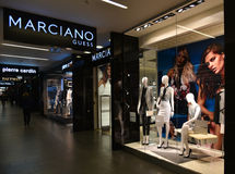 Marciano Guess fashion store Royalty Free Stock Image