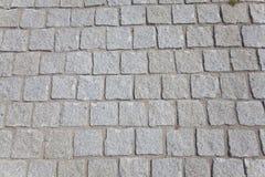 Marciapiede di pietra Immagine Stock