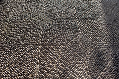 Marciapiede di pietra grigio Fotografia Stock