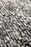 Marciapiede di pietra nella prospettiva, fondo Immagini Stock