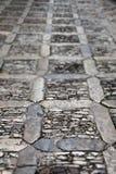 Marciapiede di pietra, piccola profondità di campo Fotografia Stock Libera da Diritti