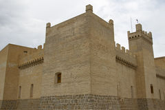 Замок Marcilla стоковое изображение