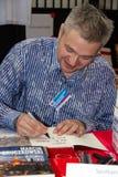 Marcin Bruczkowski sulla quarta fiera del libro a Varsavia Immagine Stock Libera da Diritti