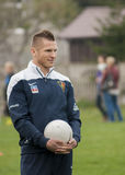 Marcin Robak-Fußballspieler von Pogon Szczecin Polen Stockbilder