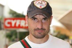 Marcin Wasilewski - soccer gladiator Royalty Free Stock Photography