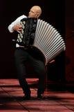 Marcin Wyrostek -独奏展示时尚星期 2015年10月3日,罗兹,波兰 免版税库存照片