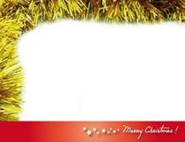Marco 4 de la Navidad Foto de archivo
