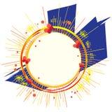 Marco abstracto Imagen de archivo