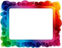 Marco abstracto del espectro ilustración del vector