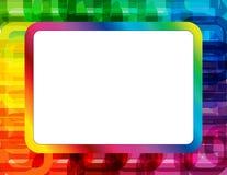 Marco abstracto del espectro stock de ilustración