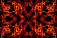 Marco abstracto del fuego Imagen de archivo libre de regalías