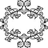 Marco abstracto del garabato Imagen de archivo libre de regalías