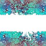 Marco abstracto para la tarjeta de felicitación Foto de archivo libre de regalías
