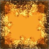 Marco abstracto para la tarjeta de felicitación Imagen de archivo libre de regalías