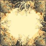 Marco abstracto para la tarjeta de felicitación Imagen de archivo