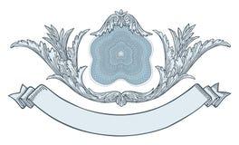 Marco adornado stock de ilustración