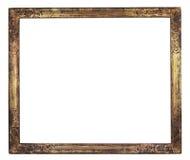 Marco adornado antigüedad, espacio libre del cuadro foto de archivo