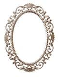 Marco adornado oval Imagenes de archivo