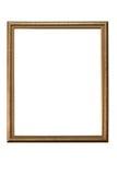 Marco aislado en el fondo blanco Fotos de archivo libres de regalías