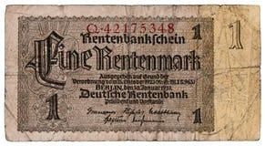 Marco alemão alemão Imagens de Stock
