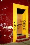 Marco amarillo Fotos de archivo