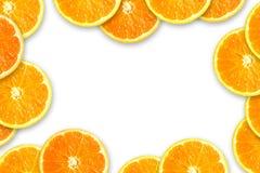 Marco anaranjado Fotografía de archivo