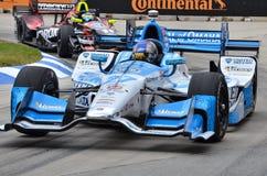 Marco Andretti a Detroit IndyCar 2016 immagini stock