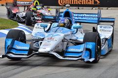Marco Andretti i Detroit IndyCar 2016 arkivbilder