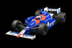 Marco Andretti Indy Car. Large scale indy car model driven by Marco Andretti captured on display royalty free stock photography