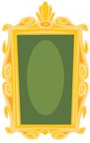 Marco antiguo stock de ilustración