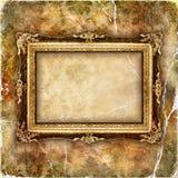 Marco antiguo Foto de archivo libre de regalías