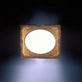 Marco antiguo del oro Imágenes de archivo libres de regalías