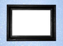 Marco antiguo negro Fotos de archivo libres de regalías