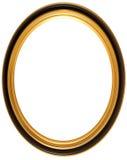 Marco antiguo oval Imagen de archivo libre de regalías