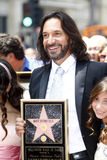 Marco Antonio Solis. LOS ANGELES - AUGUST 4:  Marco Antonio Solis at the Hollywood Walk of Fame Ceremony for Marco Antonio Solis at Hollywood Walk of Fame on Royalty Free Stock Images
