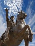 Marco aurelio capitol Stock Image