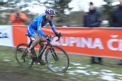 Marco Aurelio Fontana - cyclo cross Stock Image