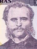 Marco Aurelio Soto portrait. From Honduran money Royalty Free Stock Photo