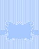 Marco azul Fotos de archivo libres de regalías