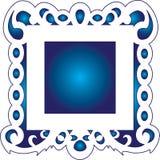 Marco azul Libre Illustration