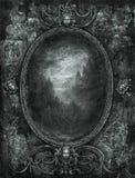 Marco barroco stock de ilustración
