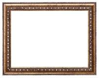 Marco barroco del estilo con la lona cortada foto de archivo libre de regalías