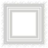 Marco blanco Fotografía de archivo libre de regalías