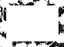 Marco blanco y negro Fotografía de archivo